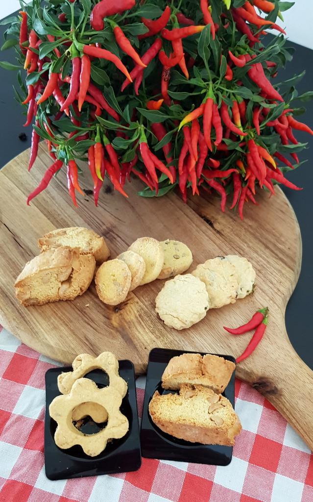 Biscotti di frolla salata