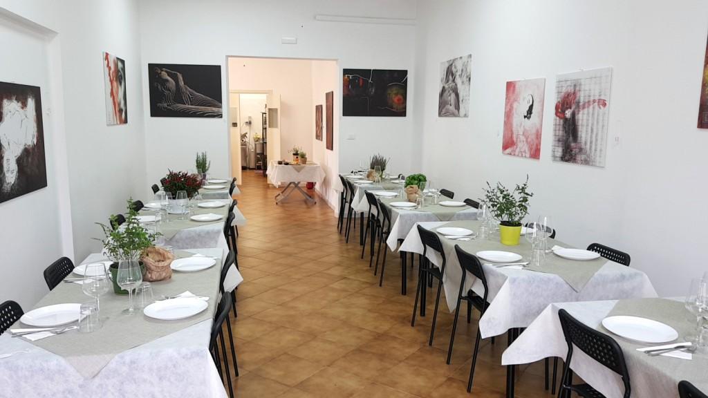 Mostra di quadri d'autore a Cantiere Cucina
