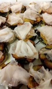 Sformato di bietole e patate con lardo di colonnata