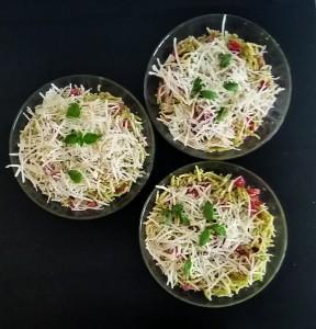 Trofie al pesto con pomodorini e ricotta salata