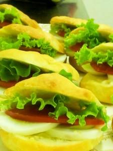 Focaccia vegetariane