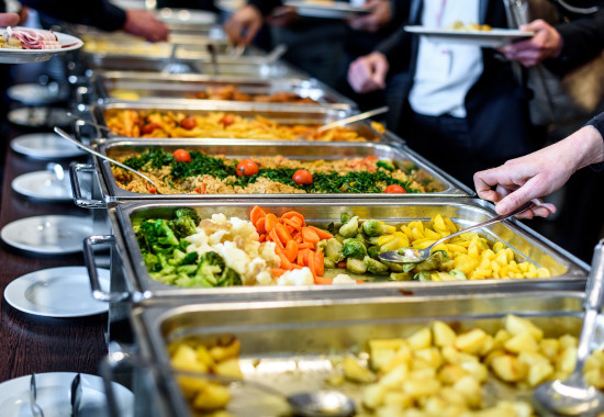 Chafing dishes per eventi business
