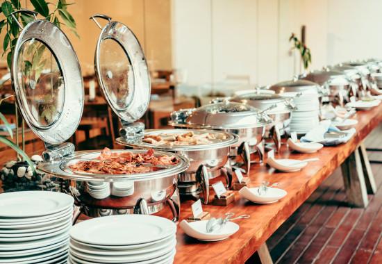 Catering buffet - servizioo tipico eventi in famiglia