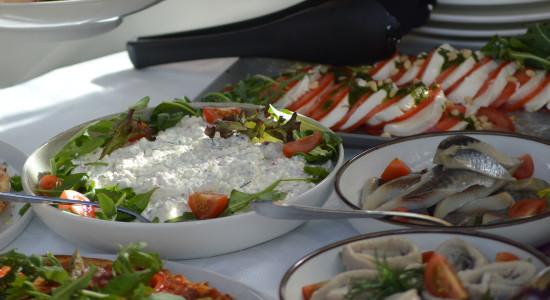 Antipasti a buffet da porzionare